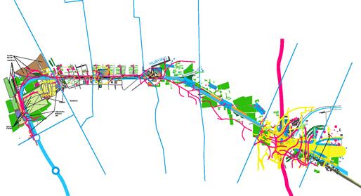 Line13 | Masterplan: Superimposing  Programmatic Concepts