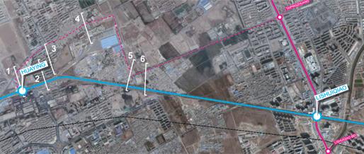 Line13 | Segment 3. Huaying – Lishuiqiao