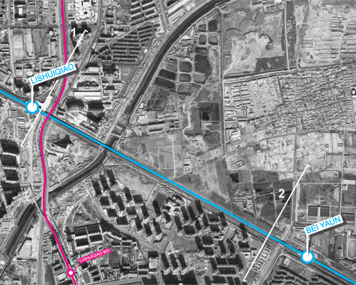 Line13 | Segment 4. Lishuiqiao – Beiyuan