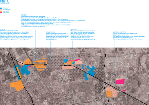 Line13   Workmap: Primary, Secondary, Tertiary, Informal