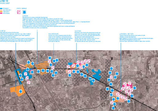 Line13 | Workmap: Static, Mobile