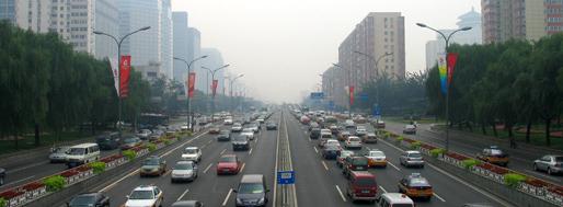 Beijing Second Ringroad | August 4, 2008