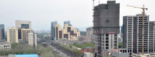 Beijing   SOHO Sanlitun & skyline   MovingCities 2010