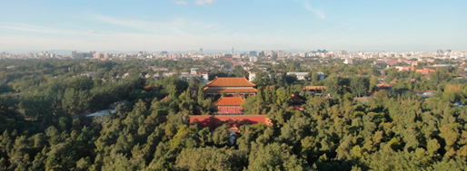 Beijing on a clear day