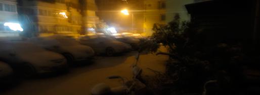 Snow hutong