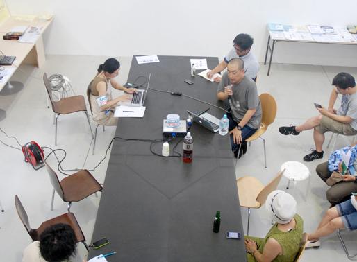 Archi+Aid presentation at Yokohama Art Triennale | by Sören Grünert