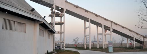 Exhibition inside Shanghai Cement Plant | 2013 Westbund Biennial Shanghai