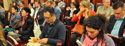 Europe Asia Roundtable Sessions | EARS ON SHANGHAI, 2 November 2012