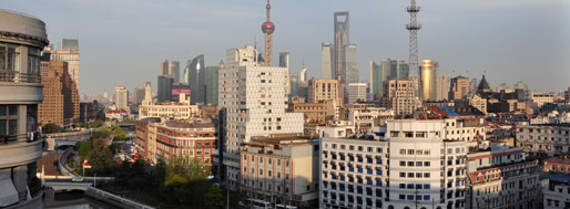 View on Shanghai from MovingCities' studio | April, 2011