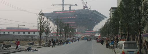 China Exhibition Hall under construction | World Expo 2010 Shanghai