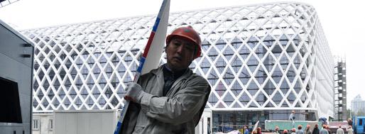 Shanghai World Expo 2010 | French pavillion | MovingCities