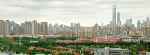 Pudong Lujiazui CBD Skyline | July 2010