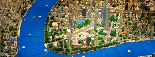 Pudong Lujiazui CBD Skyline | Shanghai Urban Planning Exhibition Centre