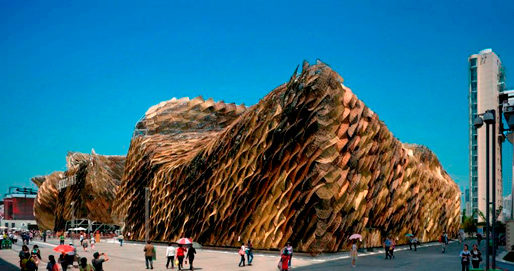 Spanish Pavilion for the 2010 Shanghai World Expo by EMBT | 2010