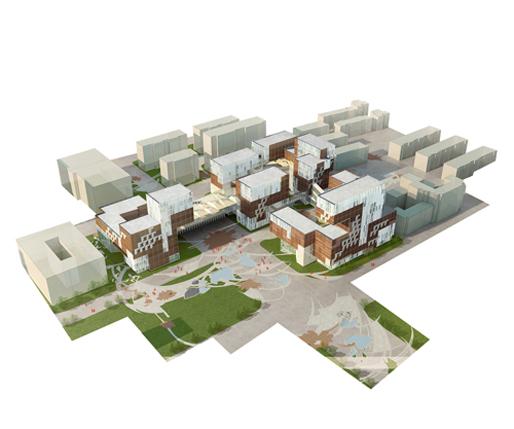 Campus of Fudan University School of Management | EMBT