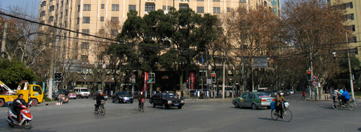 Western edge of  the Old French Concession | Shanghai