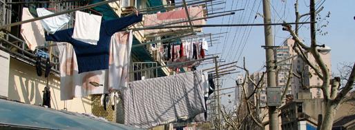 Housing blocks along Xietu Lu and Yueyang Lu | Shanghai
