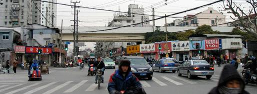 Area around Yan'an Xi Lu Subway Station | Shanghai