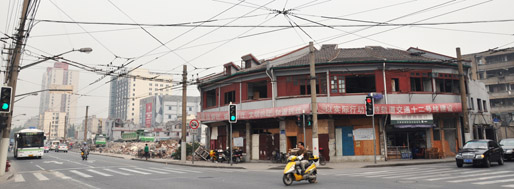 Transformation of Changyang Rd   October 27, 2009