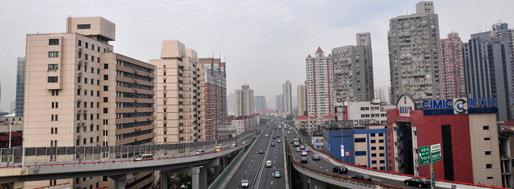 Shanghai to Pudong Airport | May 30, 2011