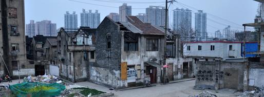 Xiaonanmen Station Area | Shanghai, April 8, 2012