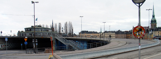 Area in-between Slussen and Medborgarplatsen | Stockholm