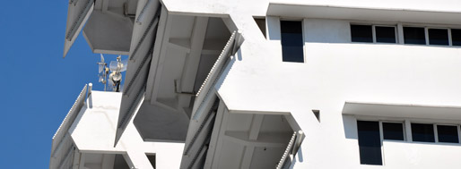 Intiland Tower [detail] by Paul Rudolph | 2011