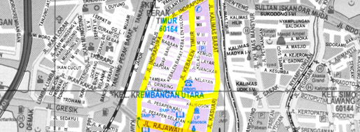 Surabaya section | Kampung Kebalen