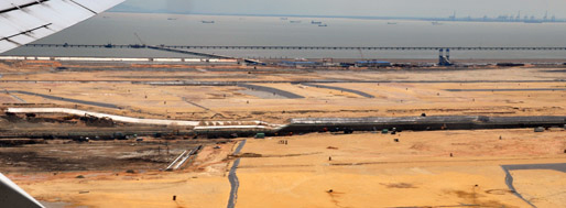 Land Reclamation for Shenzhen Airport New Terminal | July 8, 2009