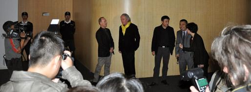 Steven Holl URBANISMS-exhibition opening | Shenzhen, December 7, 2009