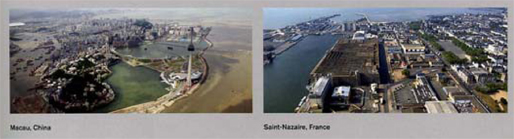 Macau (China) and Saint Nazaire (France), Cities of Dispersal | Architectural Design, March 2008
