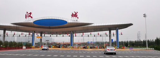 aleatory architectural impression of Xi'an | May 30, 2011